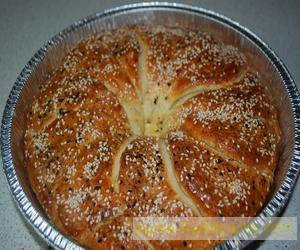 Лепешка не лепёшка, а сербский хлеб Погачице