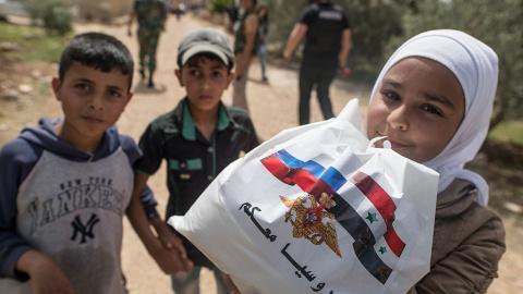 Российская помощь в Сирии: к…