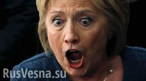 В Википедии страницу о Клинтон заменили порнографическим изображением!!!