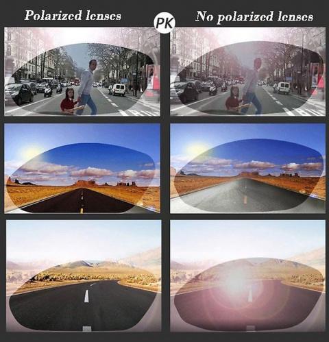 Поляризационные очки, или как избежать аварий в ночное время