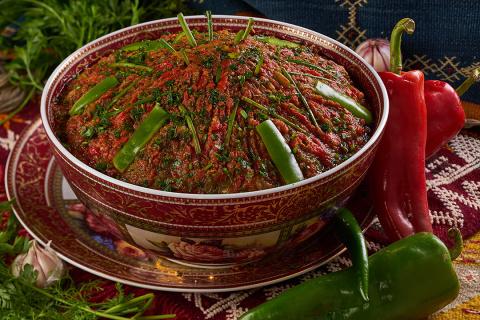 Салат из перцев и помидоров …