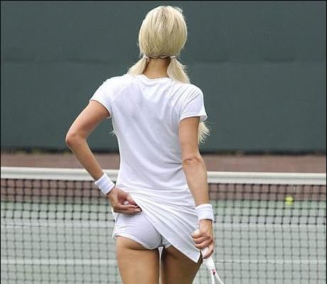 Прекрасные моменты женского большого тенниса
