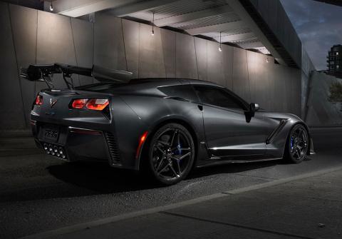 Первый новый Corvette ZR1 пр…