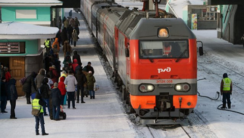 РЖД пустила все поезда в обх…