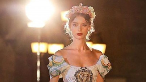 Показ Dolce&Gabbana в Палерм…