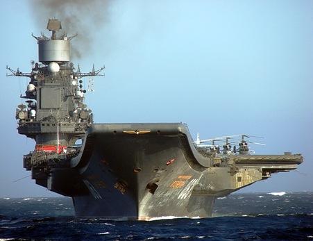 Как «Адмирала Кузнецова» уве…