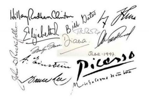 Как выглядят подписи всемирн…