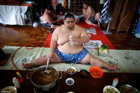 Секреты из закрытого мира бойцов сумо