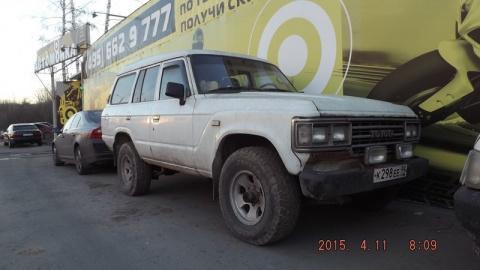 Мечта детства: Toyota Land Cruiser 60