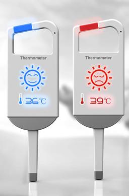 Просто лизните термометр