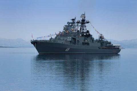 «Зубастый» корвет ВМФ России…