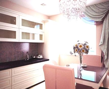 Вариант интерьера маленькой квартиры — без излишеств, уютно и романтично!