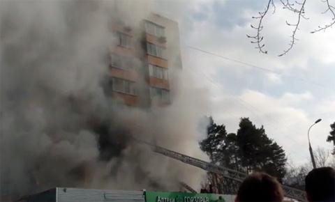 Опубликовано видео взрыва жи…