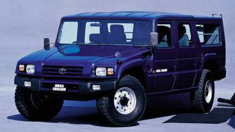 Самые необычные японские машины повышенной проходимости