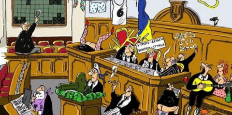 На Украине начался полураспа…