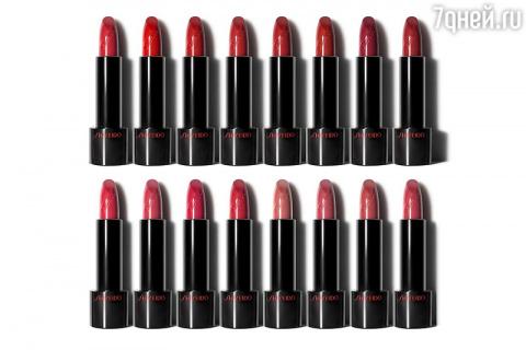 Красный знак Shiseido