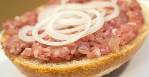8 блюд из сырого мяса
