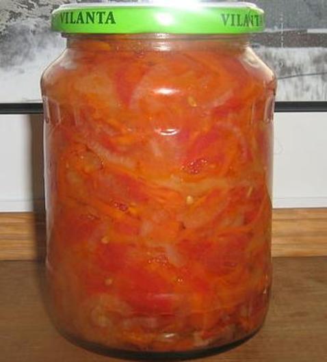 Салат с морковью и помидорами на зиму. Овощная запеканка. Креативная идея.