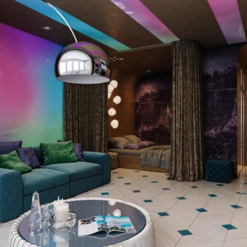 Квартира как ночной клуб: од…