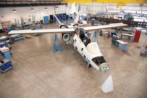 ВВС эконом-класса. Учебный самолет для США создадут на базе бюджетного штурмовика