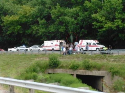 Фотография аварии, на которо…