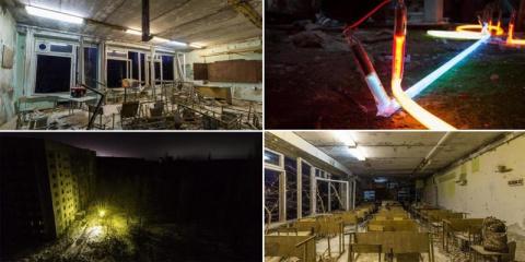 В Припяти впервые за три десятилетия включили свет: впечатляющие кадры