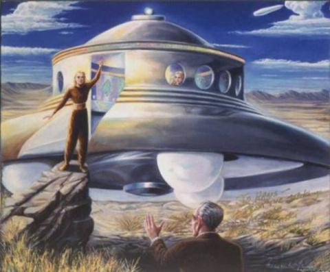 Пол Хеллье: «Двое инопланетян работают на правительство США»