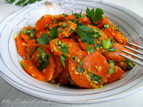 Марокканский морковный салат (Moroccan carrot salad)