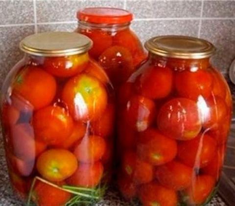 Сладкие помидоры без уксуса …