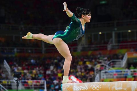 Ужасное тело олимпийской гимнастки