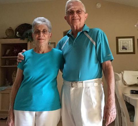 Бабушка и дедушка, живущие в…