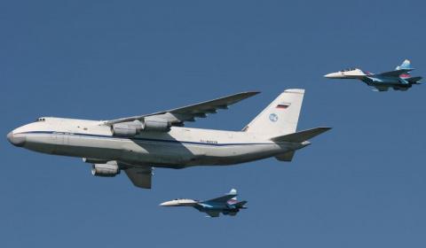 """Минобороны РФ получило первый модернизированный самолет Ан- 124 """"Руслан"""", до конца года военным будут переданы еще два"""