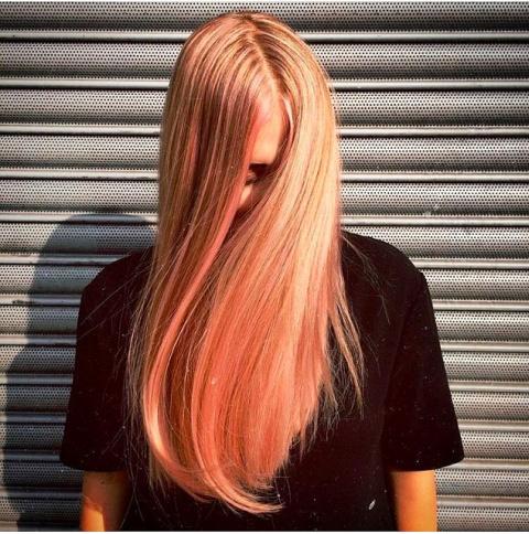 """В 2017 году будем красить волосы в """"блоранж"""""""