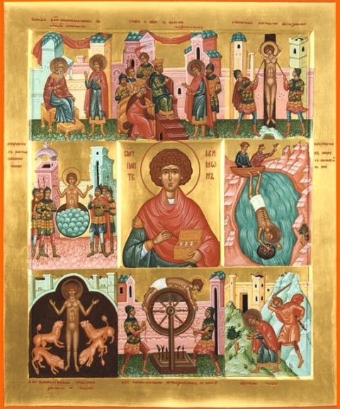 Великомученик и целитель Пан…