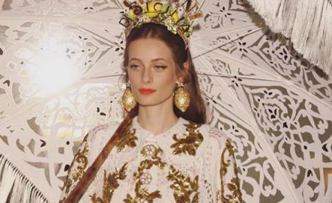 Уникальный показ Alta Moda от Dolce & Gabbana в Палермо