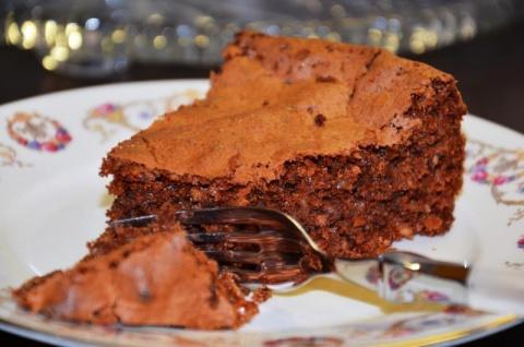 Торт Итальянский «Каприз»: миндаль и шоколад