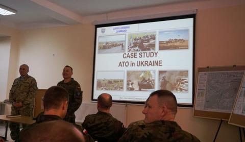 ВСУшники показали офицерам НАТО, как нужно правильно воевать