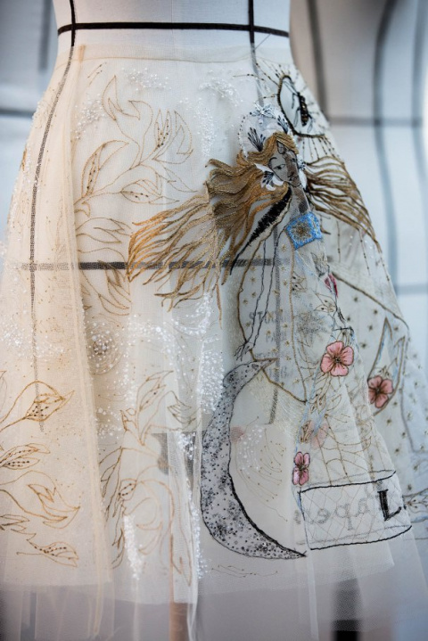 Креативная вышивка от Dior (inside diy)