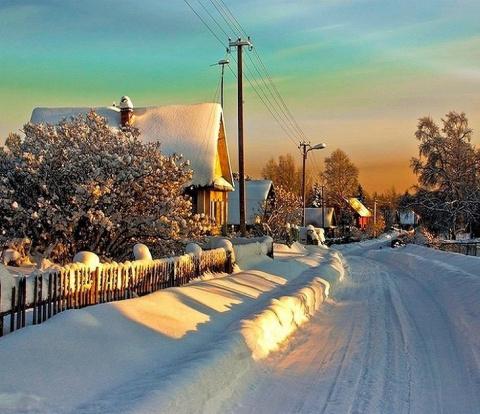Русская зима!!!! Красота!!!! Прощай до следующего года