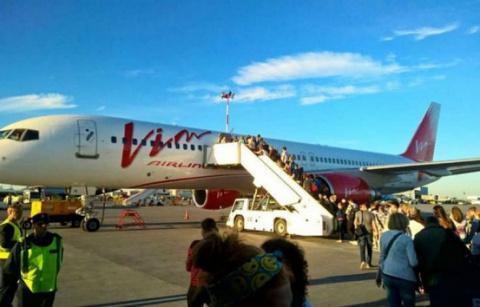 Вмосковском аэропорту Домод…