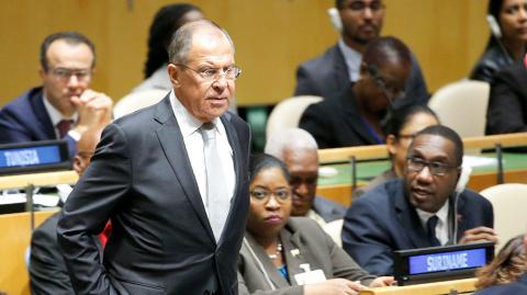 Лавров: Россия подозревает С…
