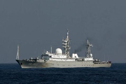 Российский корабль-разведчик…