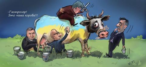 Запад в шоке: Украинские элиты разворовывают всю помощь