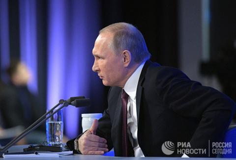 Путин меняет курс: на Трампа…