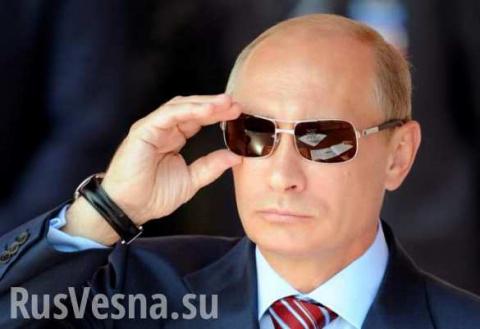 2016годпрошел «под знаком Путина», — французский телеканал