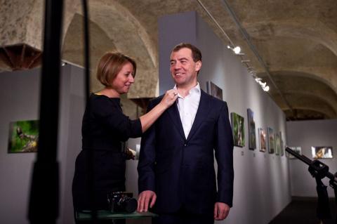 Пресс-секретарь Медведева на…