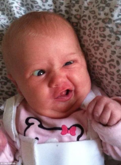 Уморительные лица младенцев …