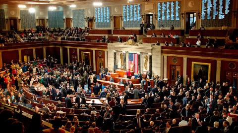 Госпереворот в США. Конгресс объявил экономическую войну России и ЕС