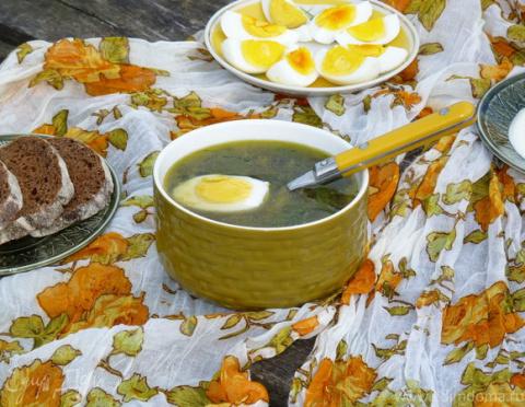 ДЕНЬ ПЕРВОГО БЛЮДА. Словацкий суп «Зеленуца»