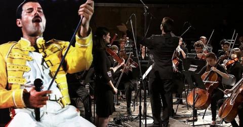 «Bohemian Rhapsody» в исполнении симфонического оркестра! Настоящее волшебство!